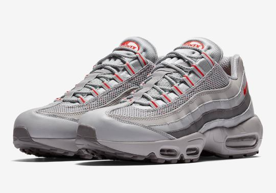 """More """"Silver Bullet"""" Themes Hit The Nike Air Max 95"""