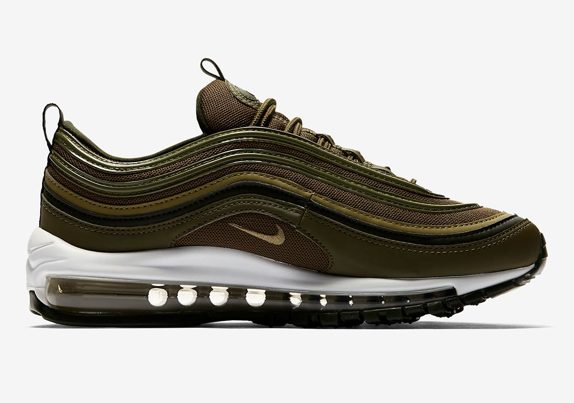 wholesale dealer 36f73 37251 Nike Air Max 97 Olive Green 921773-200 Release Info ...