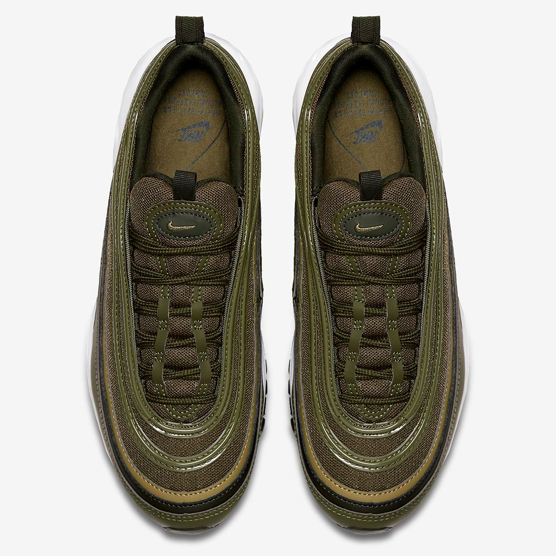 3a72e5f0e6 Nike Air Max 97 Olive Green 921773-200 Release Info | SneakerNews.com
