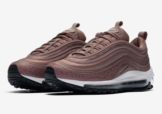 "Nike Air Max 97 ""Purple Smoke"" Features New Print On Midsole"