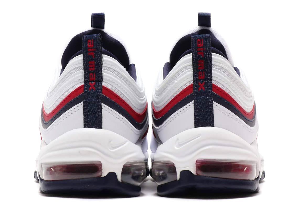 Mens Shoes Nike Air Max 97 Red Crush White Red Crush
