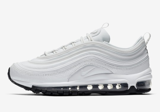 "Nike Air Max 97 ""Summit White"" Features Tumbled Leather Uppers"