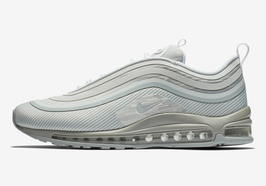 "Nike Air Max 97 Ultra '17 ""Pure Platinum"" Is Dropping In June"