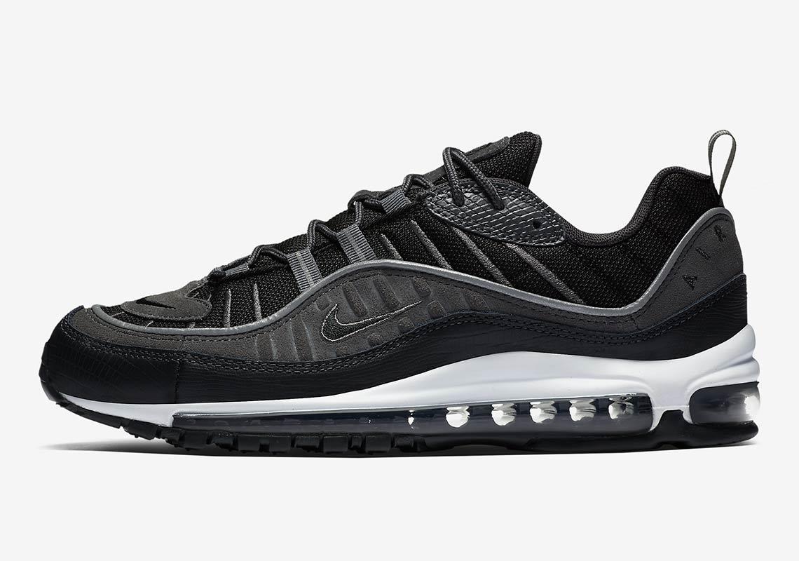 Nike Air Max 98 'Black & Anthracite' — releasedatum