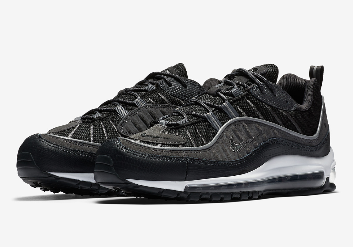 Nike Air Max 98 Black/Anthracite AO9380