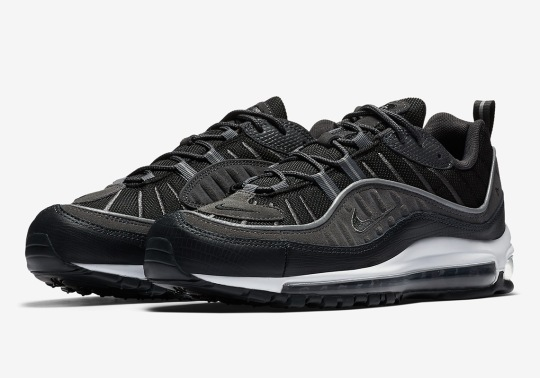 The Nike Air Max 98 In Black/Anthracite Drops This Friday