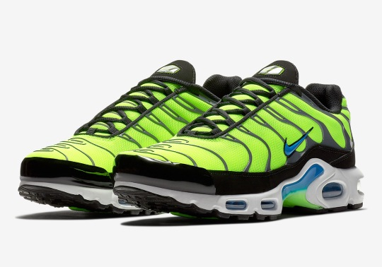 """Nike Air Max Plus """"Scream Green"""" Is Available Now"""