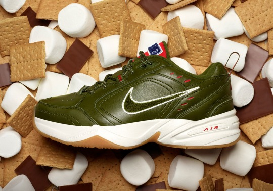 "The Nike Air Monarch IV Doubles In Price For The ""Weekend Campout"""
