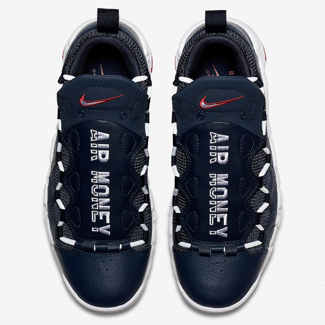 super popular c303e 303ed The Nike Air More Money Gets Patriotic For July 4th