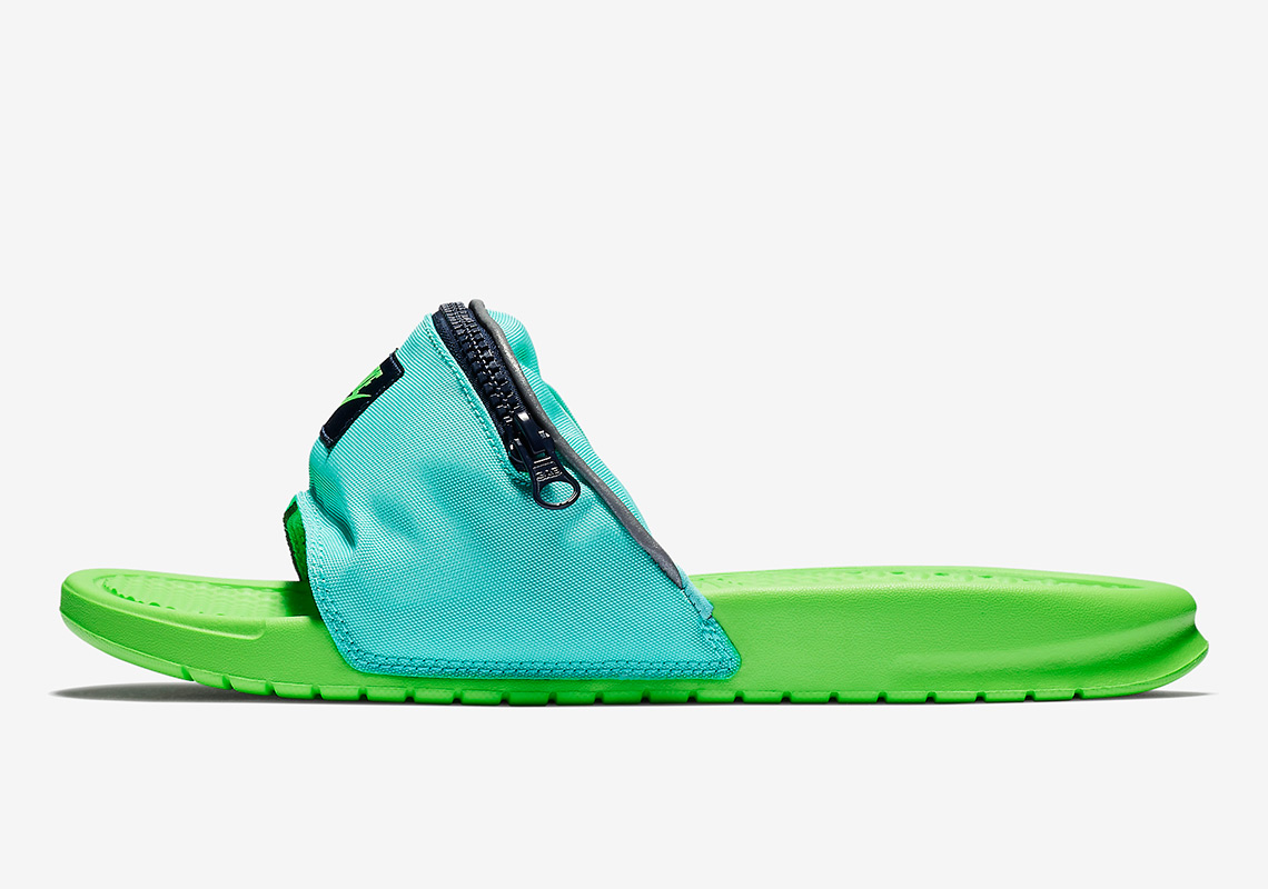 buy online ade01 93d11 Nike Benassi Fanny Pack Slides - Available Now | SneakerNews.com