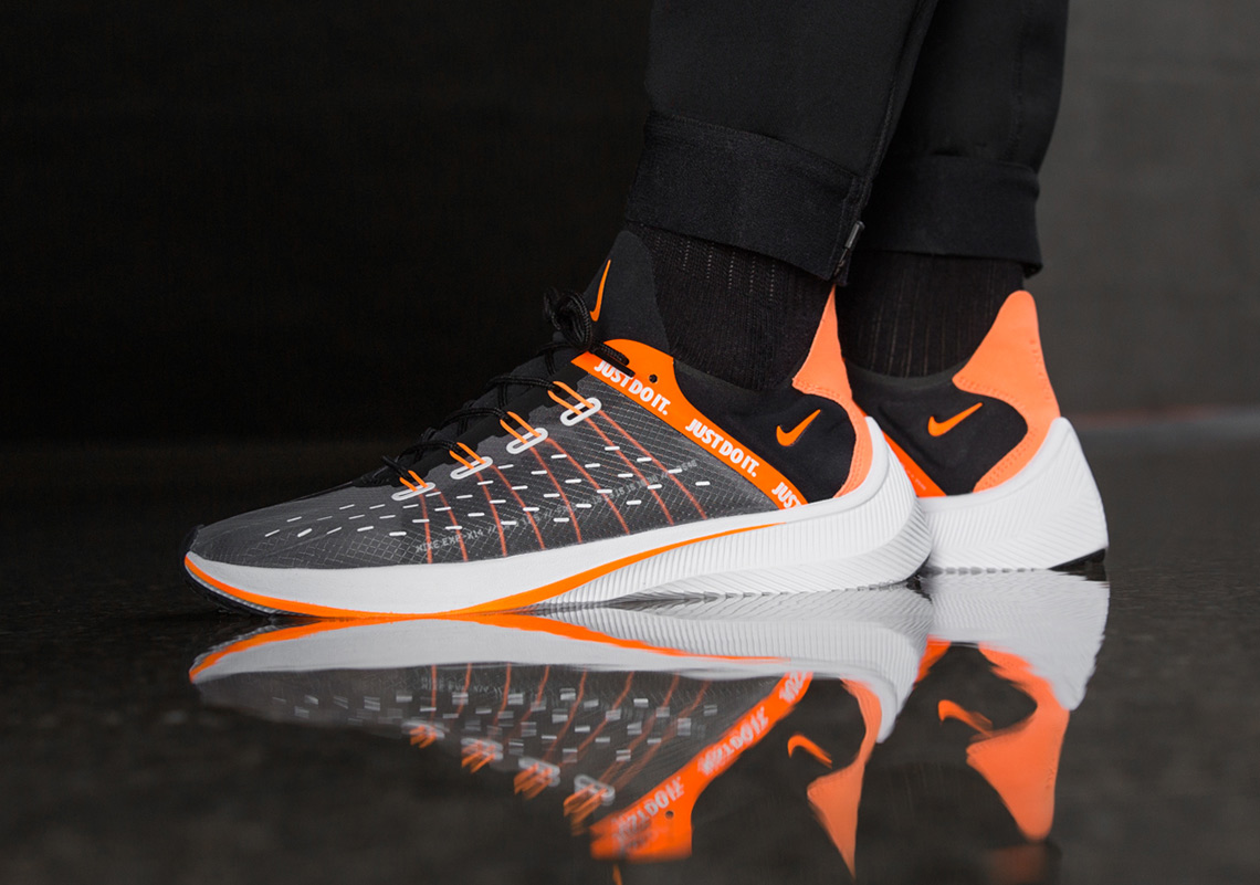 super popular 38564 66481 ... orange Flywire, black laces, and a white midsole with an orange TPU  shank. Expect a release at select retailers such as Titolo and on Nike.com  on July ...