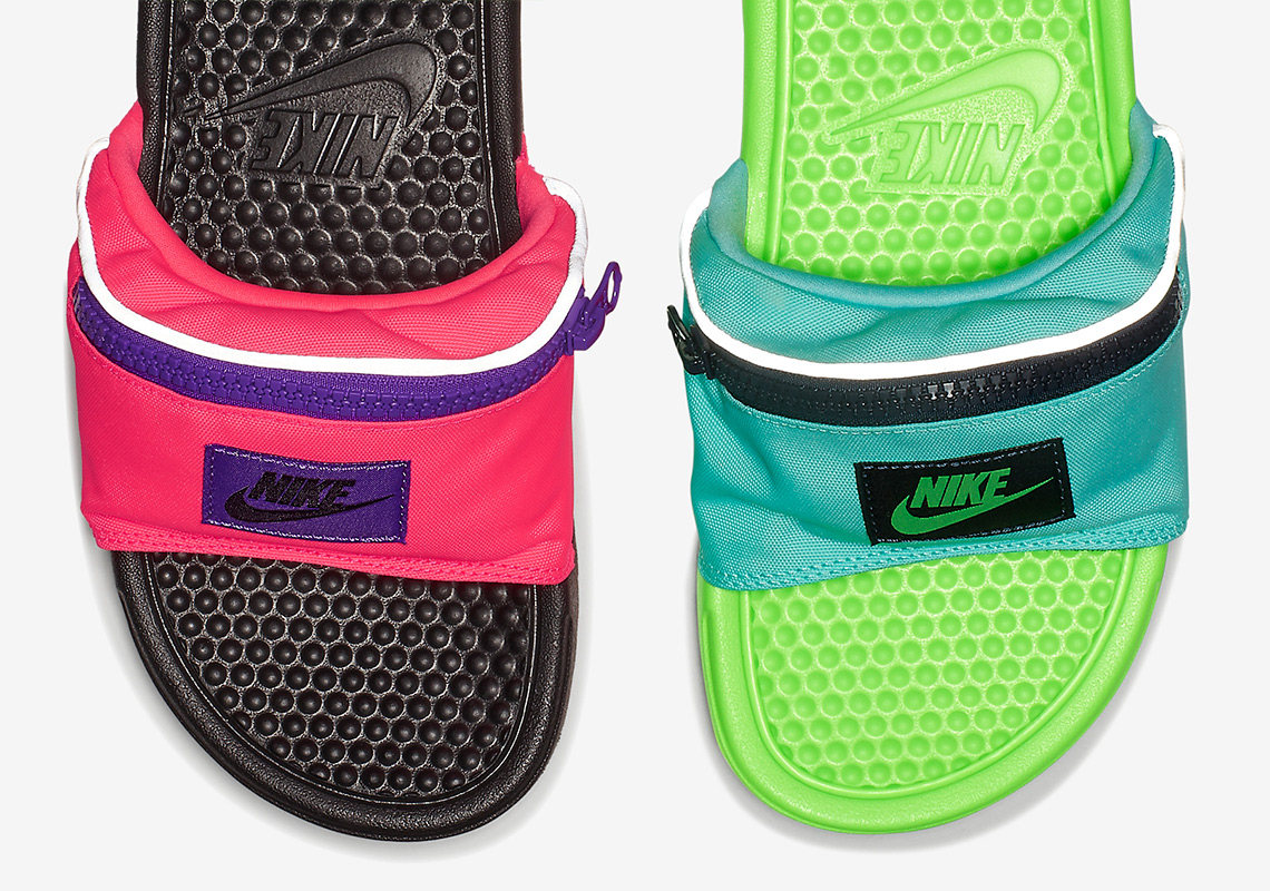 3357923723fe Nike Benassi Fanny Pack Slides - Available Now
