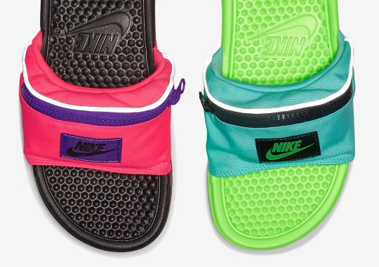 Nike Just Released Fanny Pack Slides