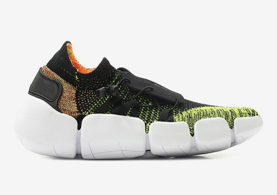 abd9e72bf27a Nike Pocket Knife. The Nike Footscape Flyknit DM Arrives In Volt And Bright  Mango