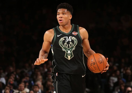 Giannis Antetokounmpo Asks Twitter For Help In Designing His Nike Signature Shoe