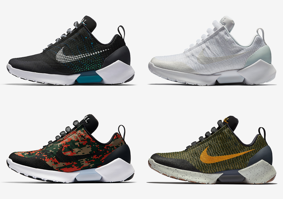 separation shoes a09ef 3f4a7 Nike Restocks Every Self-Lacing HyperAdapt 1.0 Colorway