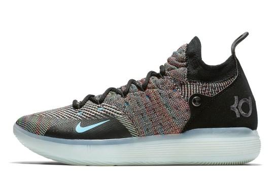 The Nike KD 11 Is Releasing In Multi-Color Flyknit