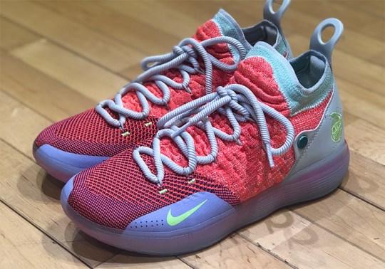 """The Nike KD 11 """"EYBL"""" Is Releasing In Asia"""