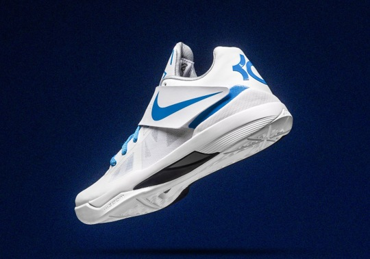 """The Nike KD 4 """"Thunderstruck"""" Will Release After Game 3"""