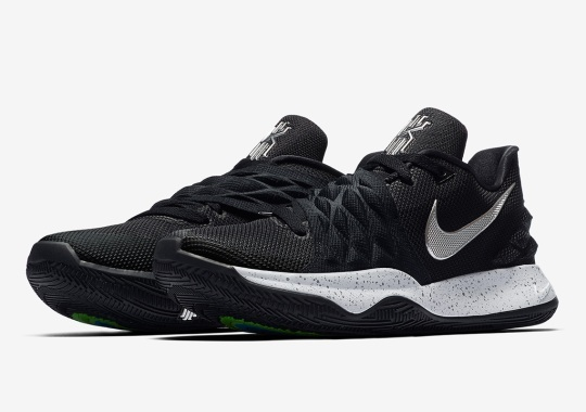 The Nike Kyrie Low 1 Is Releasing In Black And Silver