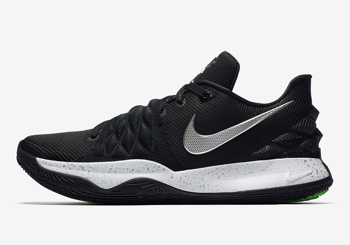 timeless design d6474 562c7 The Nike Kyrie Low 1 Is Releasing In Black And Silver