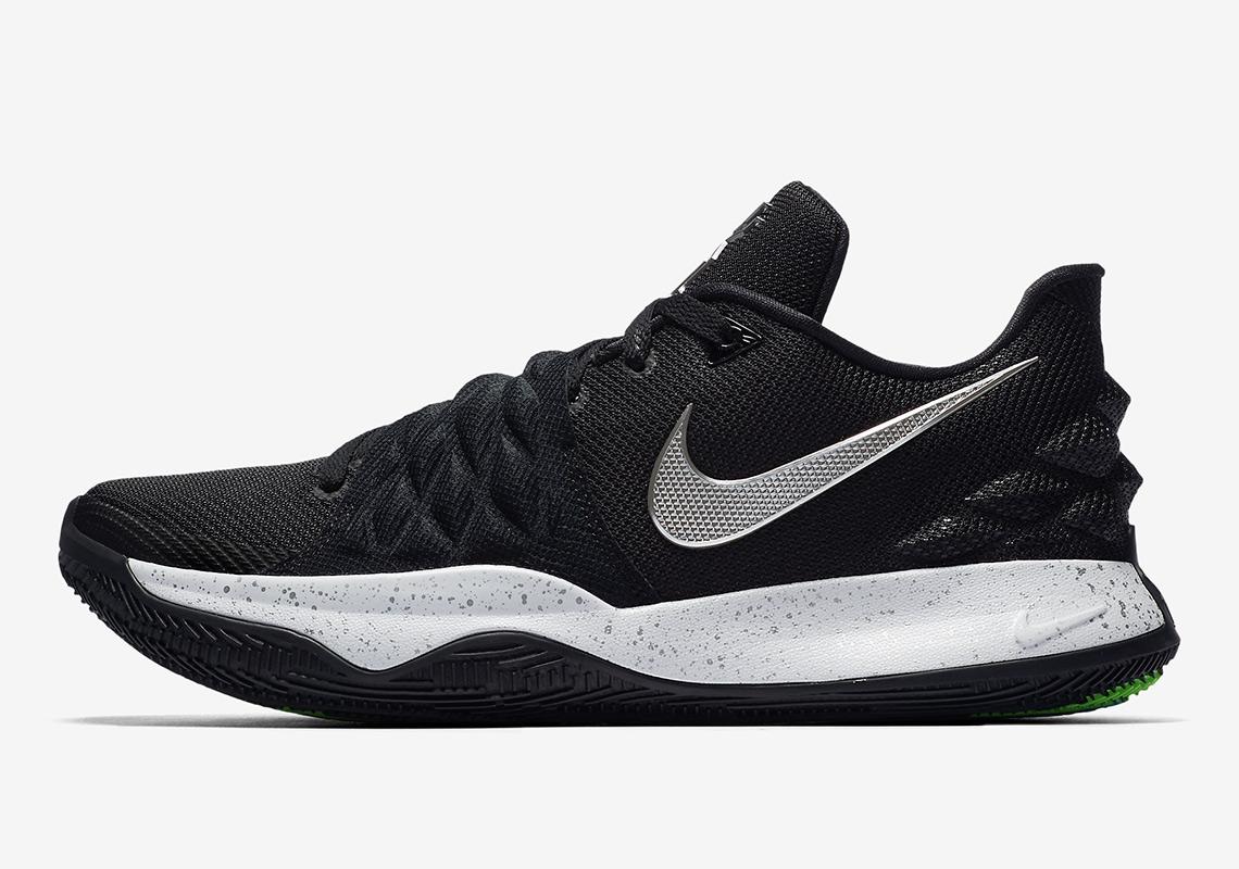 26dfb83156294e Nike Kyrie 1 Low Black Silver AO8979-003