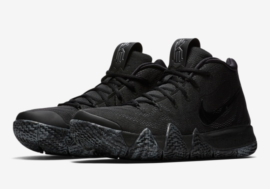 "Nike Kyrie 4 ""Blackout"" Is Coming Soon"