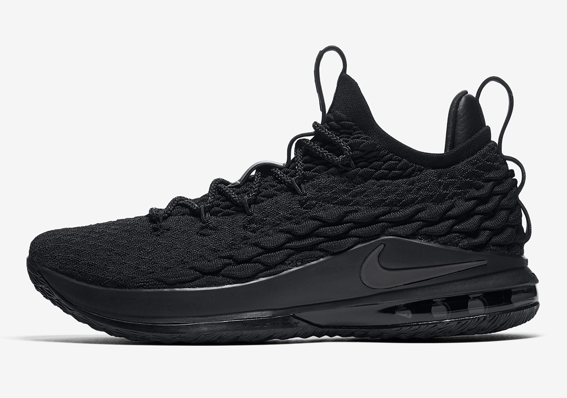 "The Nike LeBron 15 Low Is Arriving In A ""Blackout"" Colorway 4c2f9d677cc6"
