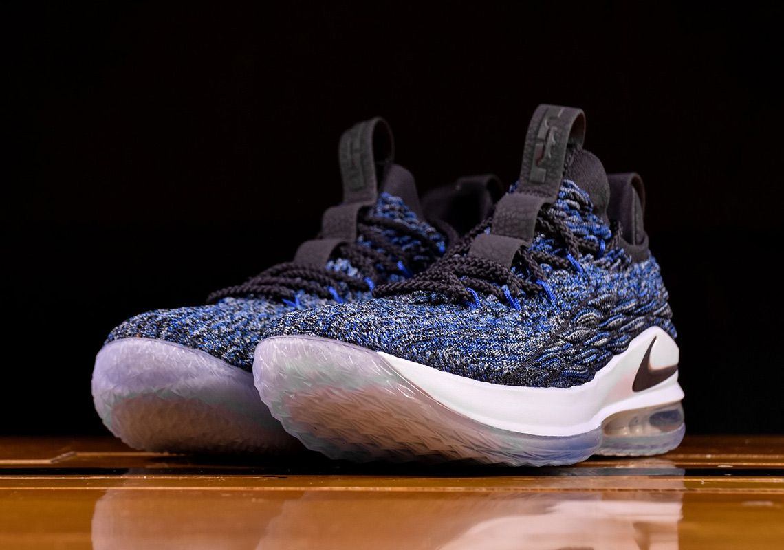 best website 01f5d dadd0 Nike LeBron 15 Low AO1755-400 Signal Blue   SneakerNews.com