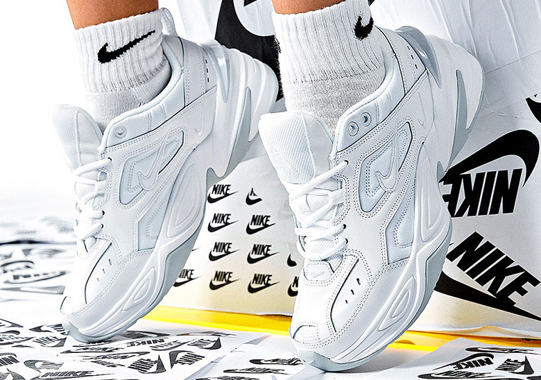 size 40 84569 c2719 Nike M2K Tekno White Grey Release Info   SneakerNews.com