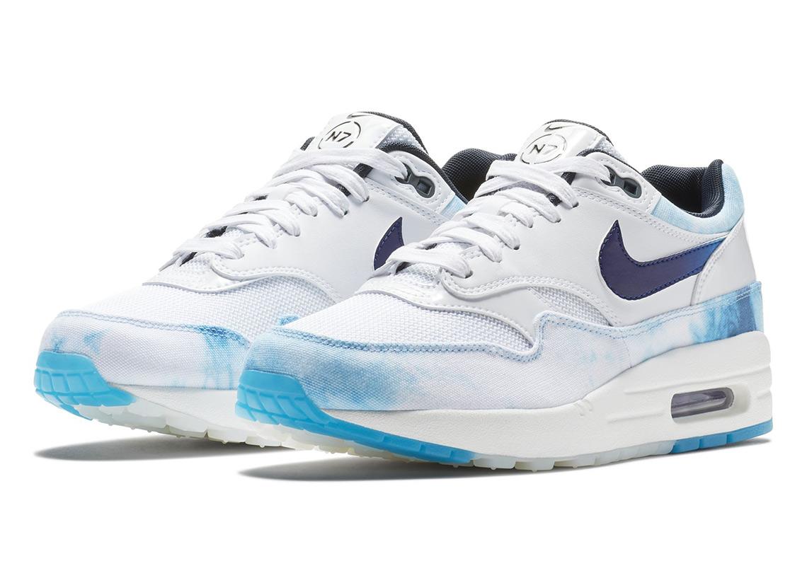 "Nike N7 Air Max 1 ""Acid Wash"" Releases On June 21st"
