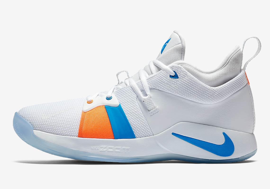 "new product 2da60 9321f Nike PG2 ""The Bait II"" Release Date June 15, 2018 110. Color WhitePhoto  Blue"