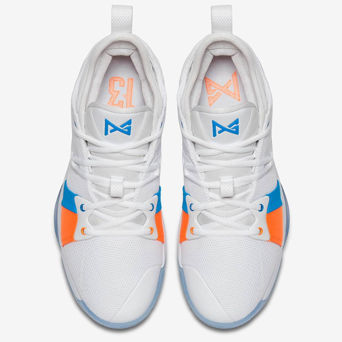 """new product eb621 054e2 Nike PG2 """"The Bait II"""" Release Date June 15, 2018 110. Color WhitePhoto  Blue"""
