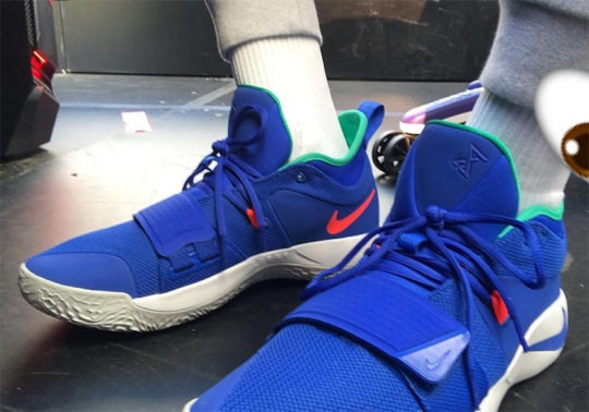 Paul George Reveals New Nike PG 2.5 Signature Shoe