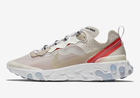 The Sneaker Internet Is Going Crazy About The Nike React Element 87