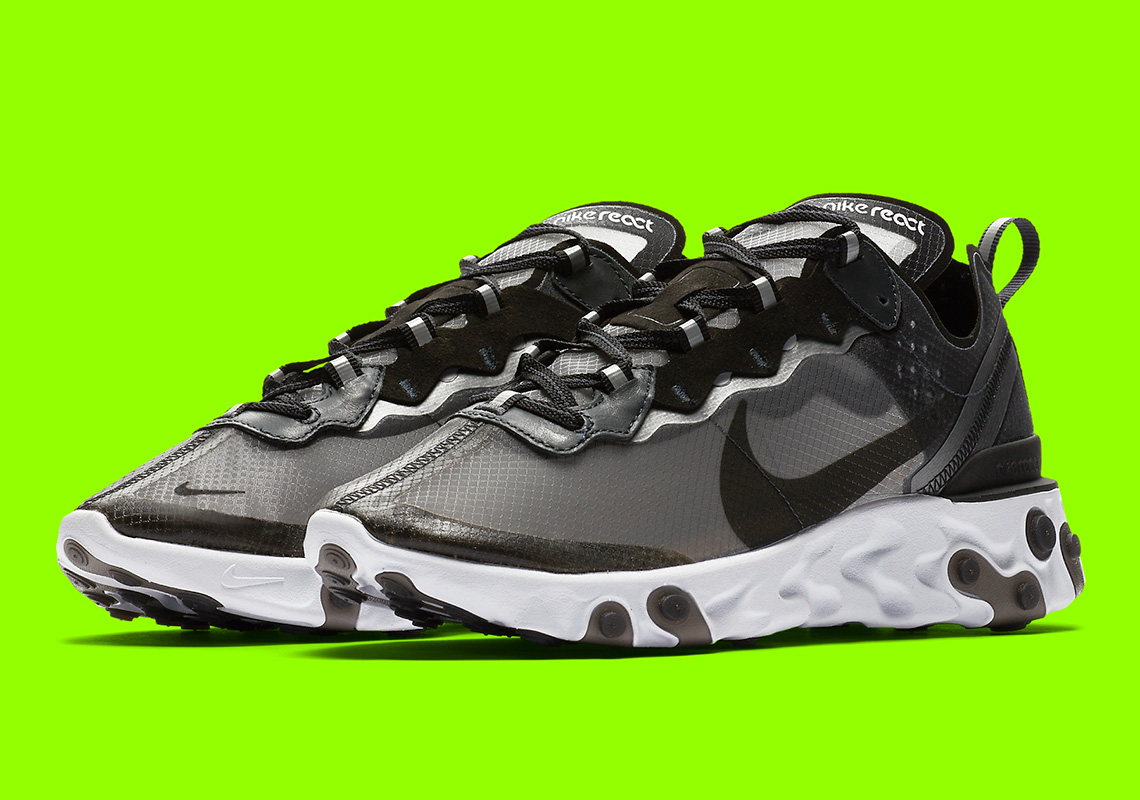 sports shoes bafbe 1b009 Nike React Element 87 Black AQ1090-001 Release Date | SneakerNews.com