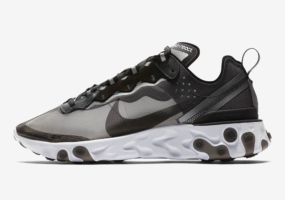 f74a9245be44 Nike React Element 87 Black AQ1090-001 Release Date