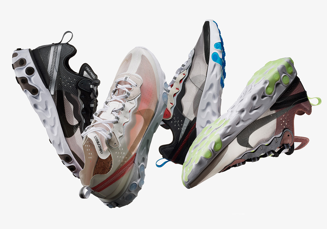 half off 26481 1f1c8 Nike Officially Unveils The React Element 87