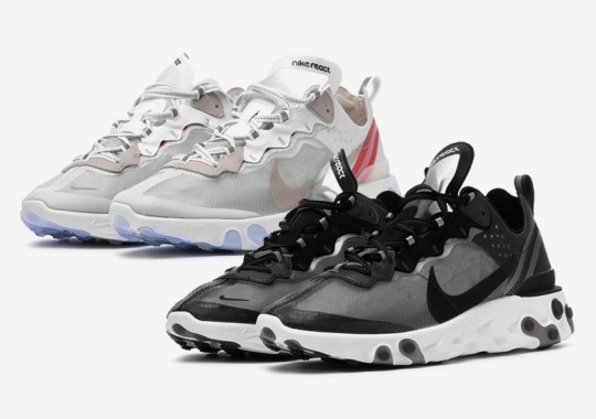 Nike React Element 87 Europe Release Info