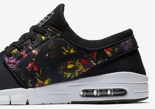huge discount 4804f e9dec Nike SB Janoski Max. The Nike Janoski Is Back With Another Floral Print