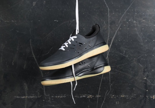 Nyjah Huston's Nike Signature Shoe Drops In Black And Gum