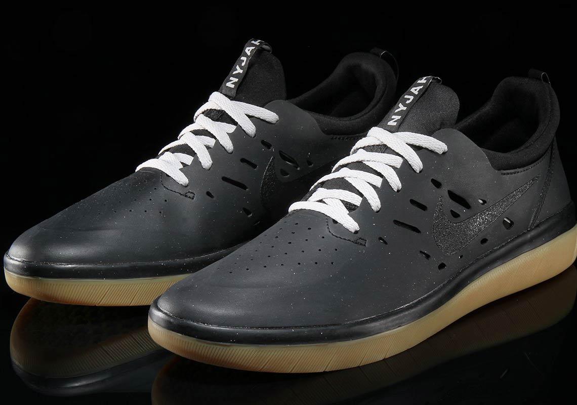 Nike SB Nyjah AVAILABLE AT Nike  95. Color  Black Gum Light Brown-Black cb1dfa3471