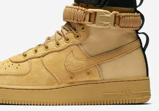 The Nike SF-AF1 Returns This Fall In Wheat Colorway