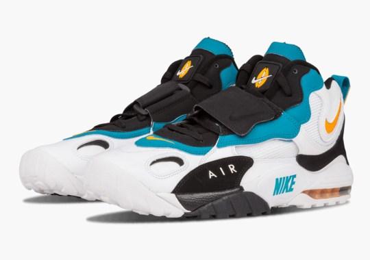 "Where To Buy Nike Speed Turf Max ""Miami Dolphins"""