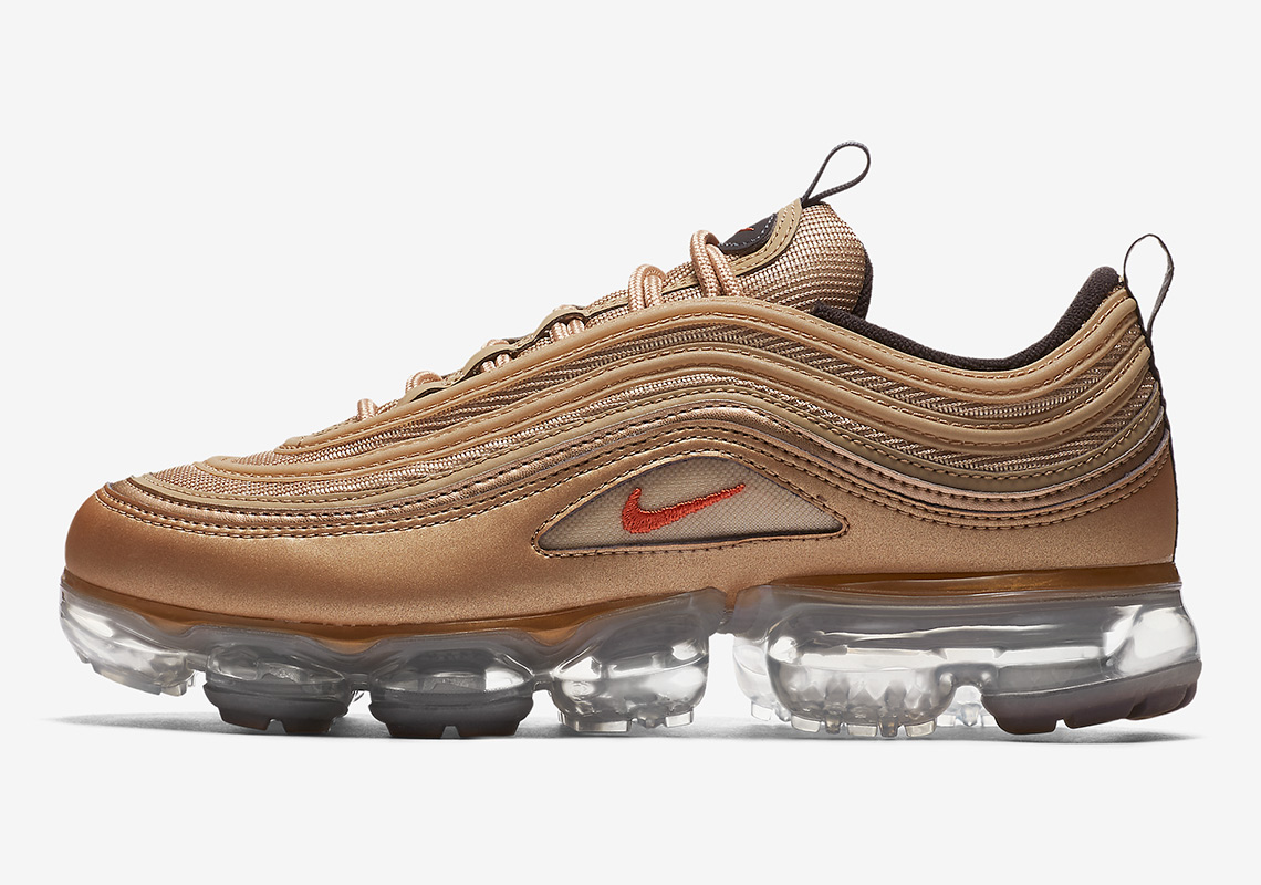 d583b3349a Nike Vapormax 97 Wmns Release Date: June 21, 2018 $190. Color: Blur/Vintage  Coral-Anthracite-Black Style Code: AO4542-902
