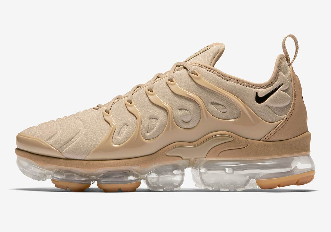 new product 2c2e1 ae94e Nike Vapormax Plus Tan AT5681-200 Available Now ...