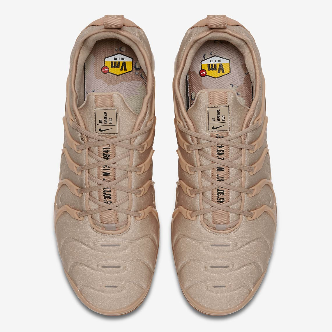 fb94621b9c5 Nike Vapormax Plus Tan AT5681-200 Available Now