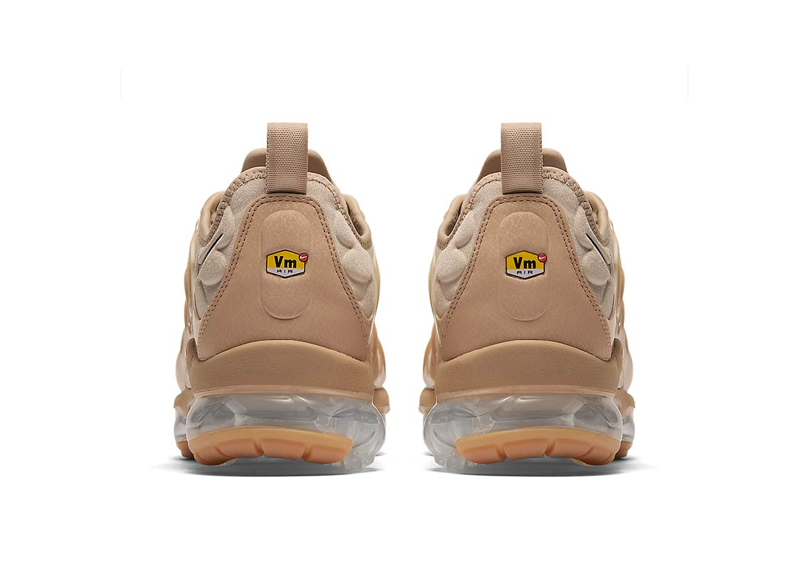 72e3840e58dd6 Nike Vapormax Plus AVAILABLE AT Nike  190. Color  String Black-Desert-Gum  Light Brown Style Code  AT5681-200. Advertisement. Advertisement