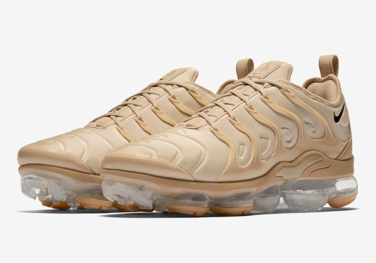 Nike To Release A Vapormax Plus For The Desert