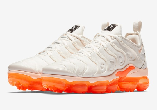 "Nike Vapormax Plus ""Creamsicle"" Is Coming Soon For Women"